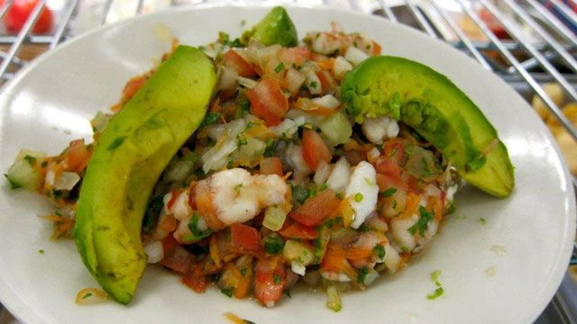 ceviche from fogon!