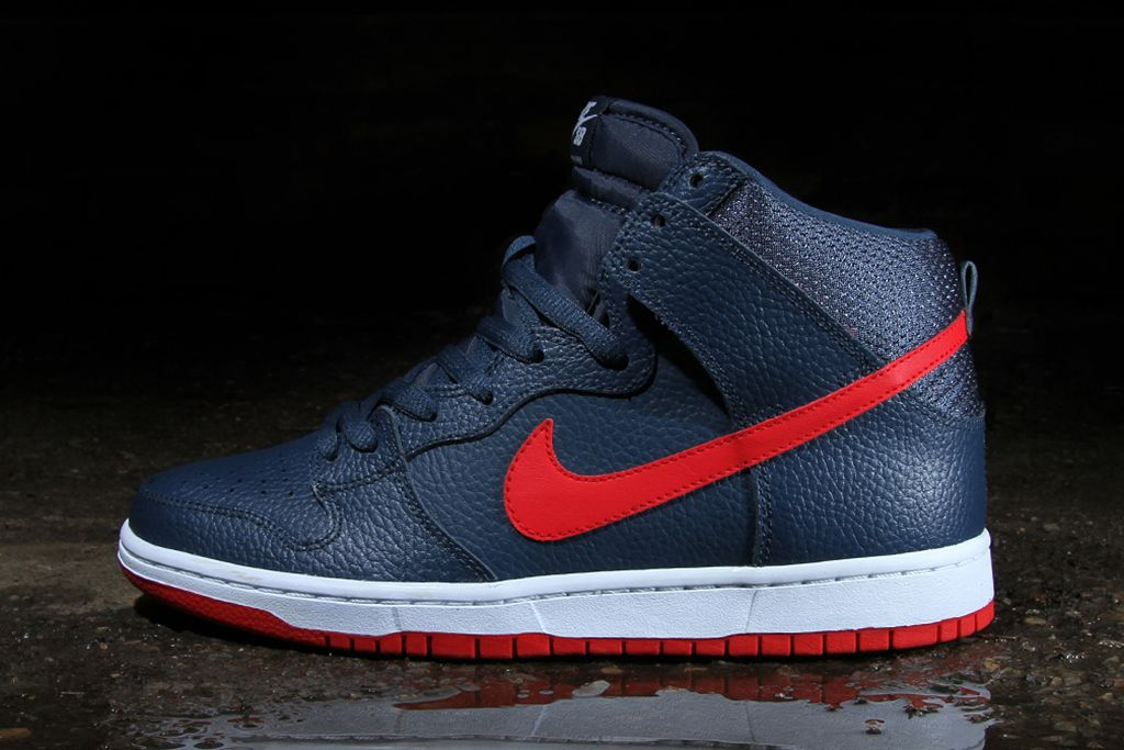 Image of Nike SB Dunk High Pro Squadron Blue 319eb827a