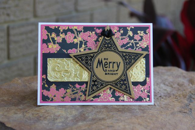 Life on The Scrap Heap: A Freshly Made Christmas Card