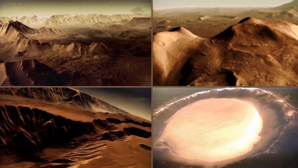 Neue Bilder vom Mars: Der Rote Planet in 3D. Pictures of Mars in 3D