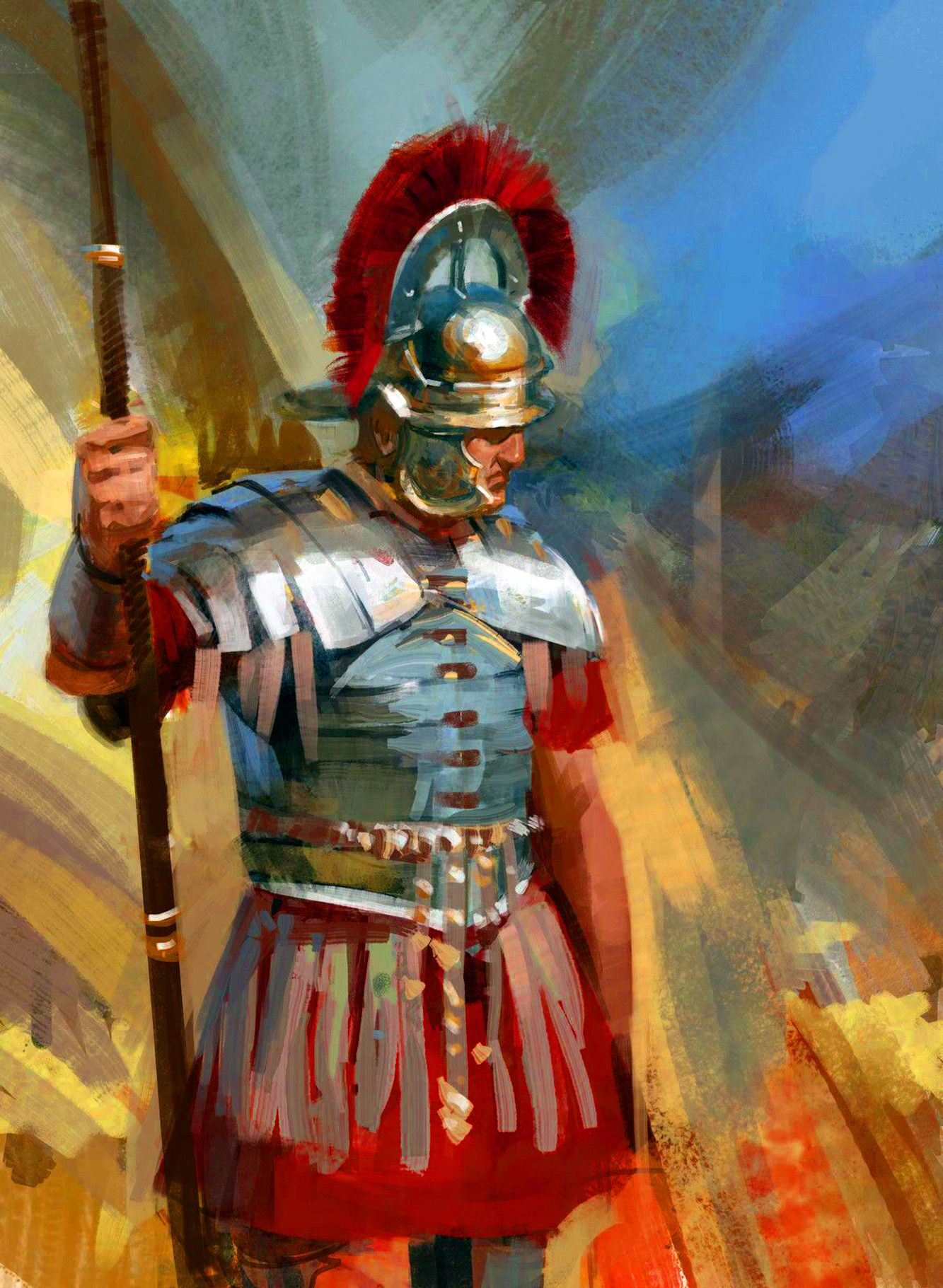 Image result for centurion painting