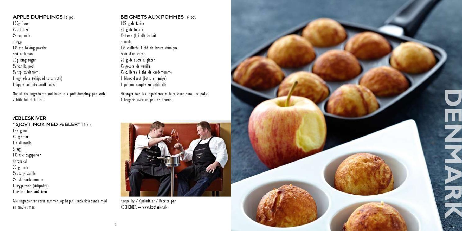 Opskrifter æbleskiver, æbleskivepande, SCANPAN