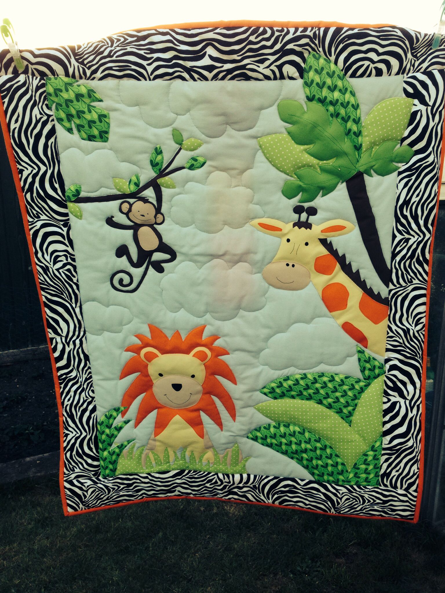 A Jungle Quilt I Made With Images