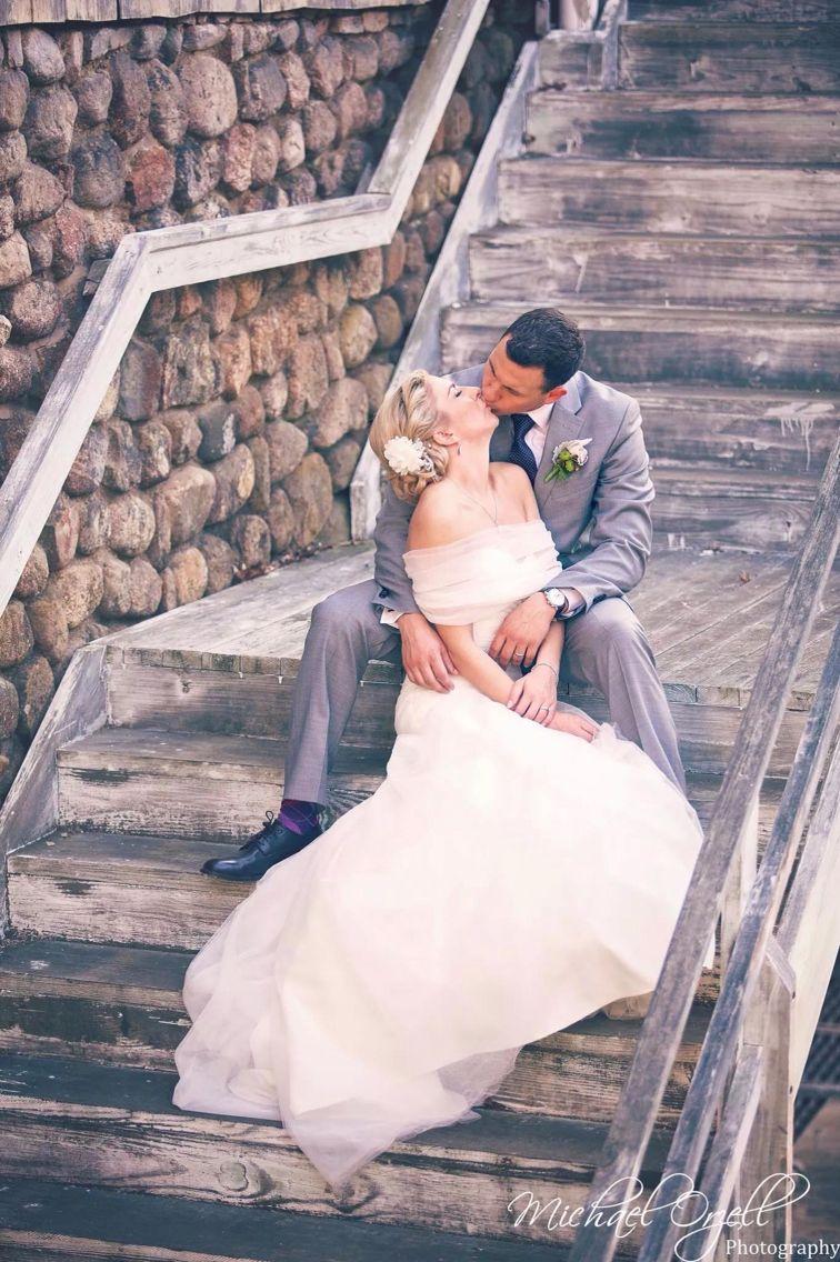 Beautiful wedding at Rocky Neck State Beach!