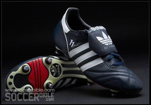 First pair of soft ground 4 by 2 #Adidas #Profi in 1988