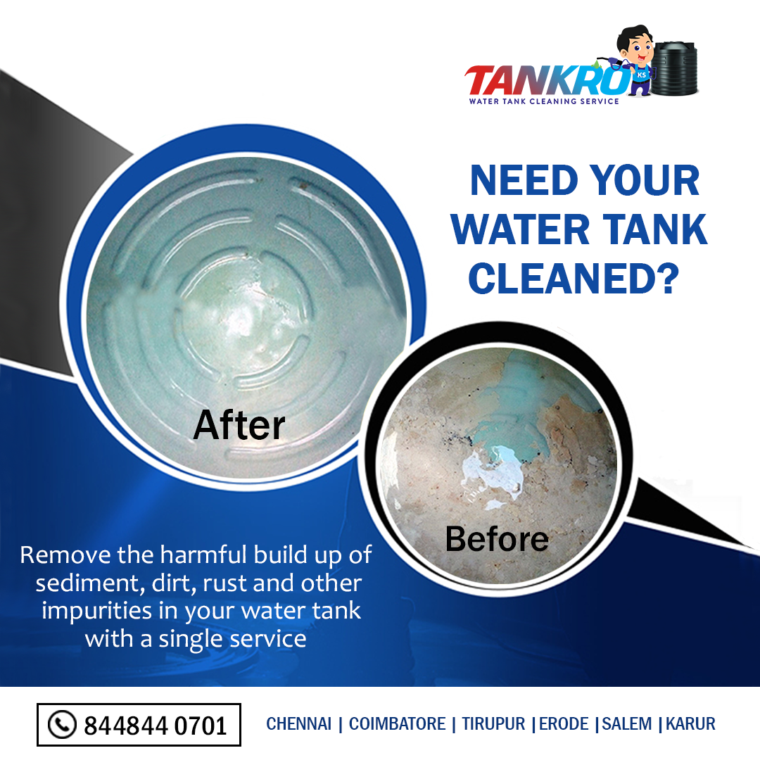 Need your water tank cleaned Keep your water tank clean and stay away from diseases