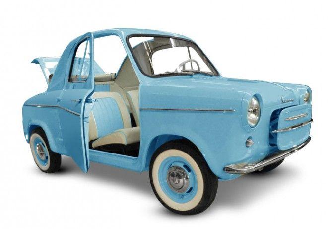 The Piaggio Vespa 400: a four-wheel starlet - Italian Ways