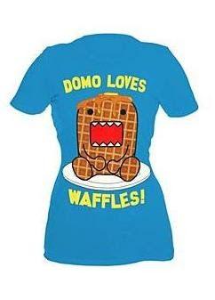 i just got this shirt too!! aw, domo <3