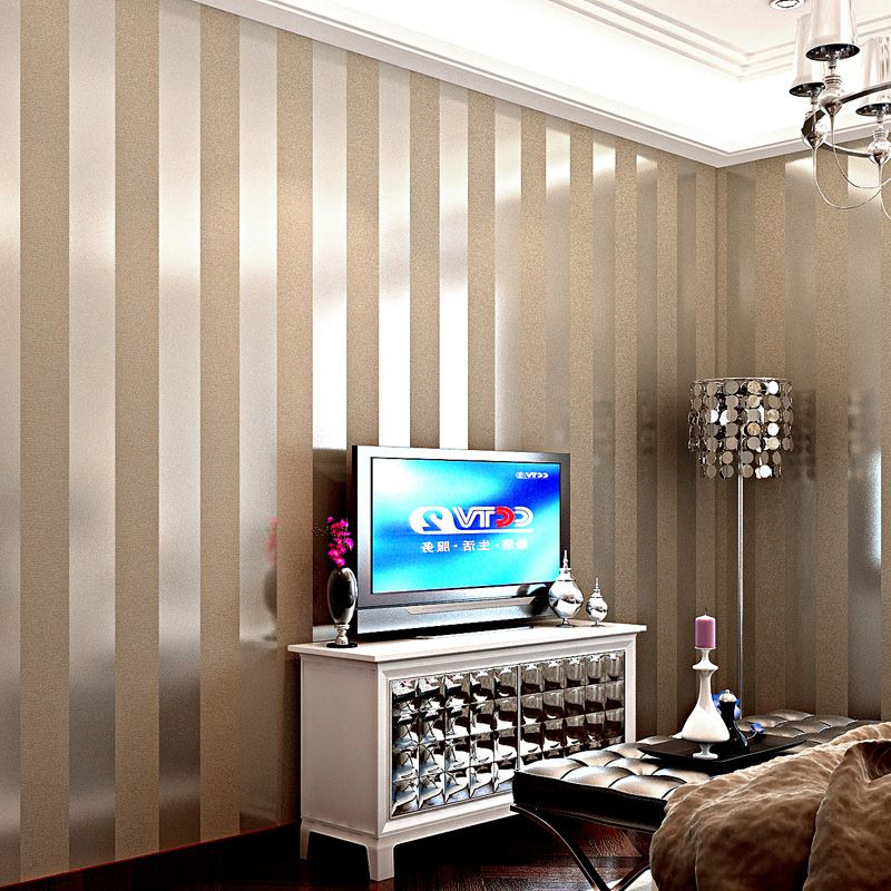 Cheap Wall Paper Buy Quality Wallpaper Roll 3d Directly From China Modern 3d Suppliers Striped Wallpaper Living Room Striped Wallpaper Wallpaper Living Room