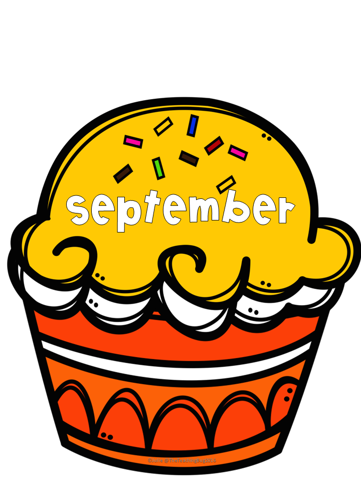 Free Month Of The Year Cupcake Printables For The