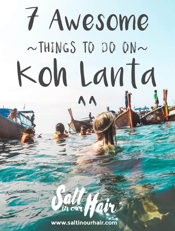 KOH LANTA THAILAND 7 Awesome Things to Do Thailand