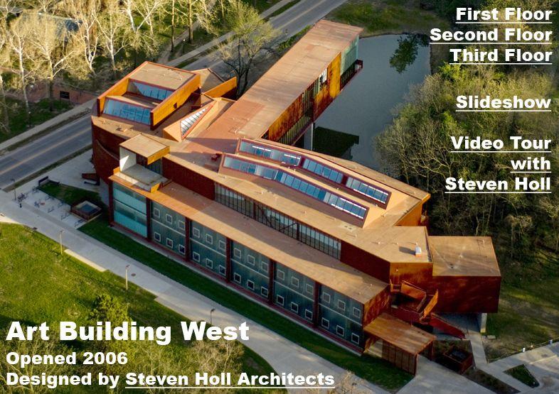 Art Building West Iowa City Ia The University Of Iowa Steven Holl Architecture