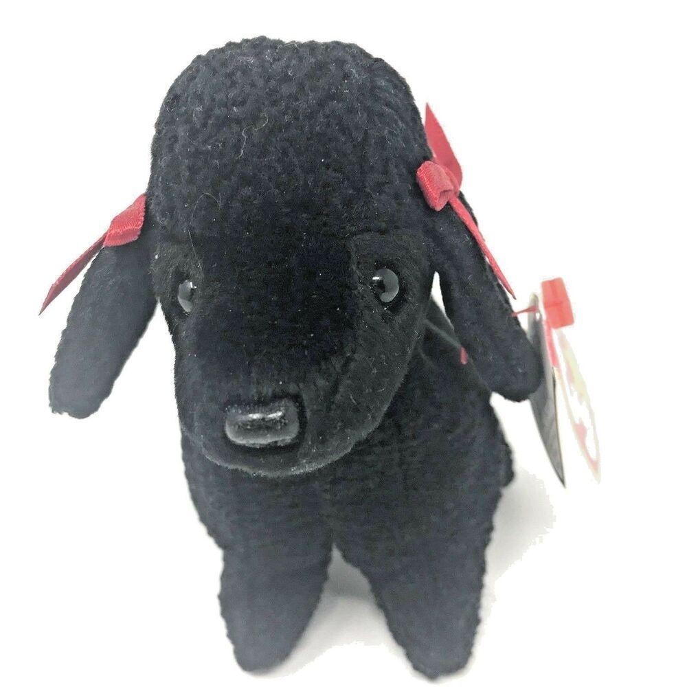 Ty Beanie Babies Gigi Toy Poodle Dog Stuffed Plush Toy 6