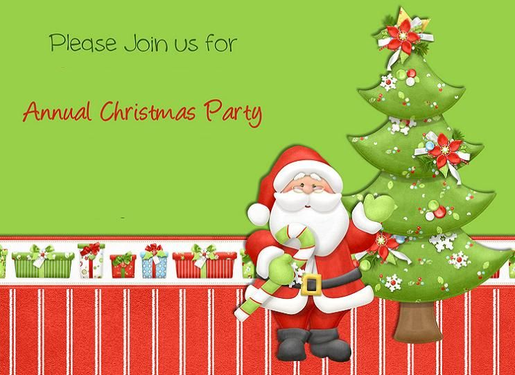invitations christmas party