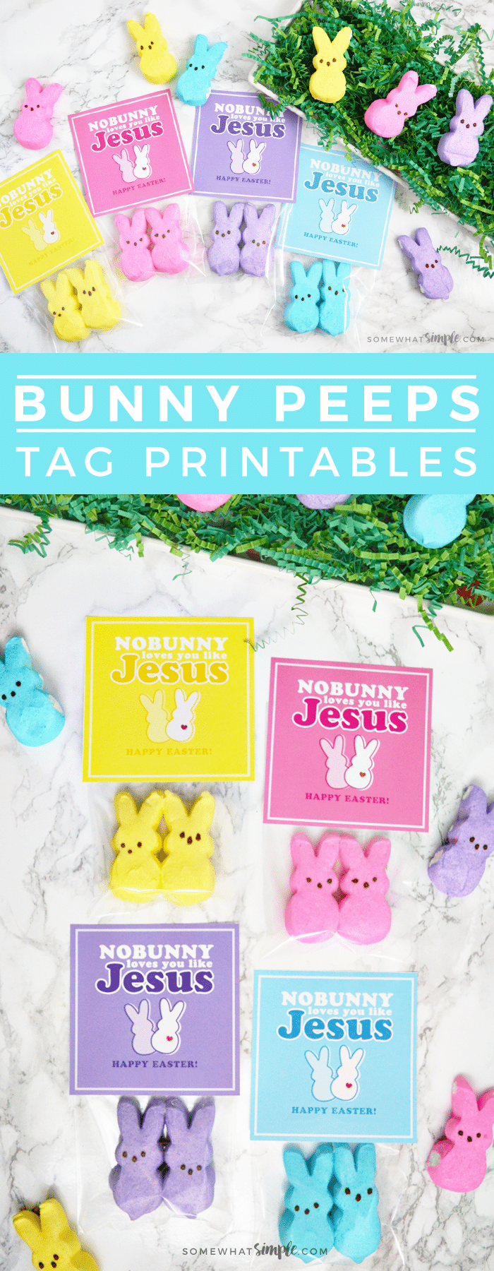 Easter gifts peeps candy tag printables if youre looking for some darling yet meaningful easter gifts then these peeps candy tags are the perfect solution great for church handouts negle Image collections