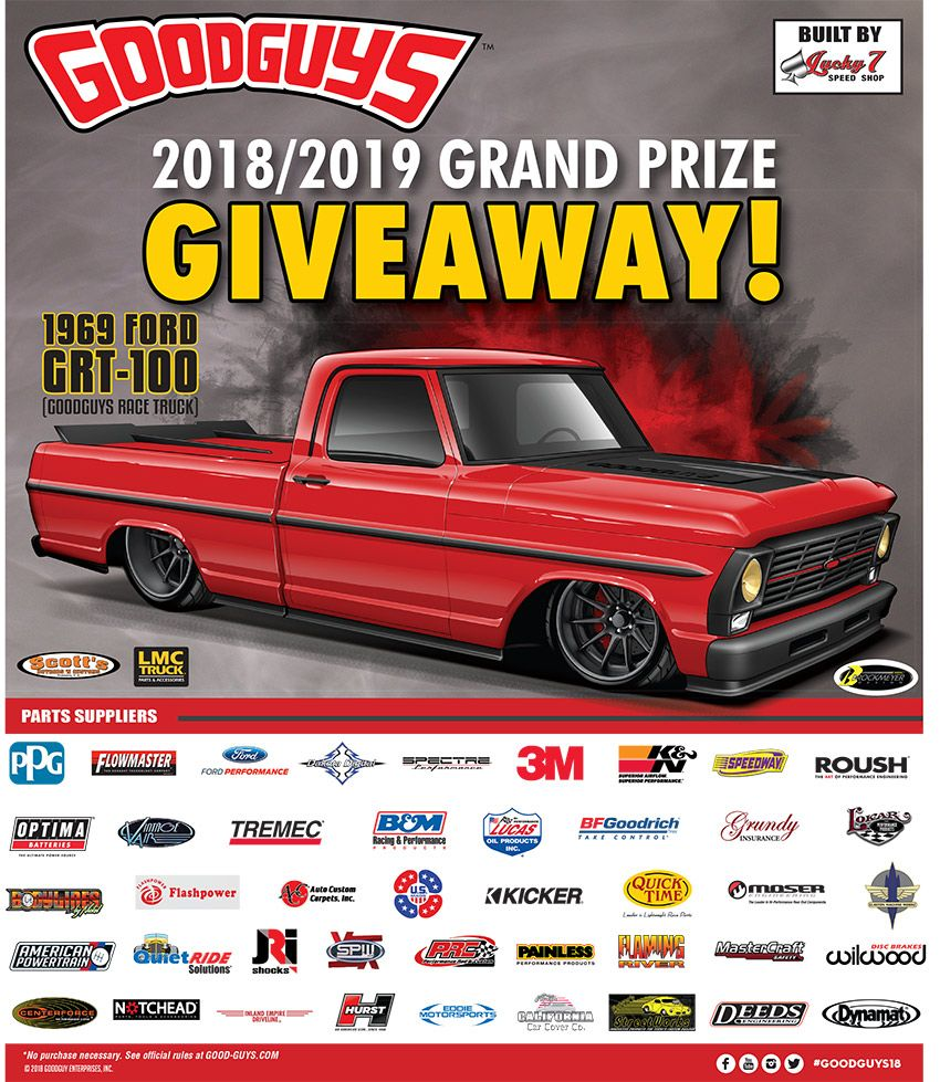 Win A 1969 Ford GRT-100. Ends 6/19/2019 @ 12:00pm PT