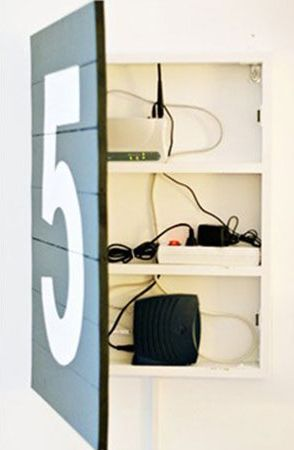 die besten 25 router mit kabel ideen auf pinterest router verstecken kabelb nder verstecken. Black Bedroom Furniture Sets. Home Design Ideas