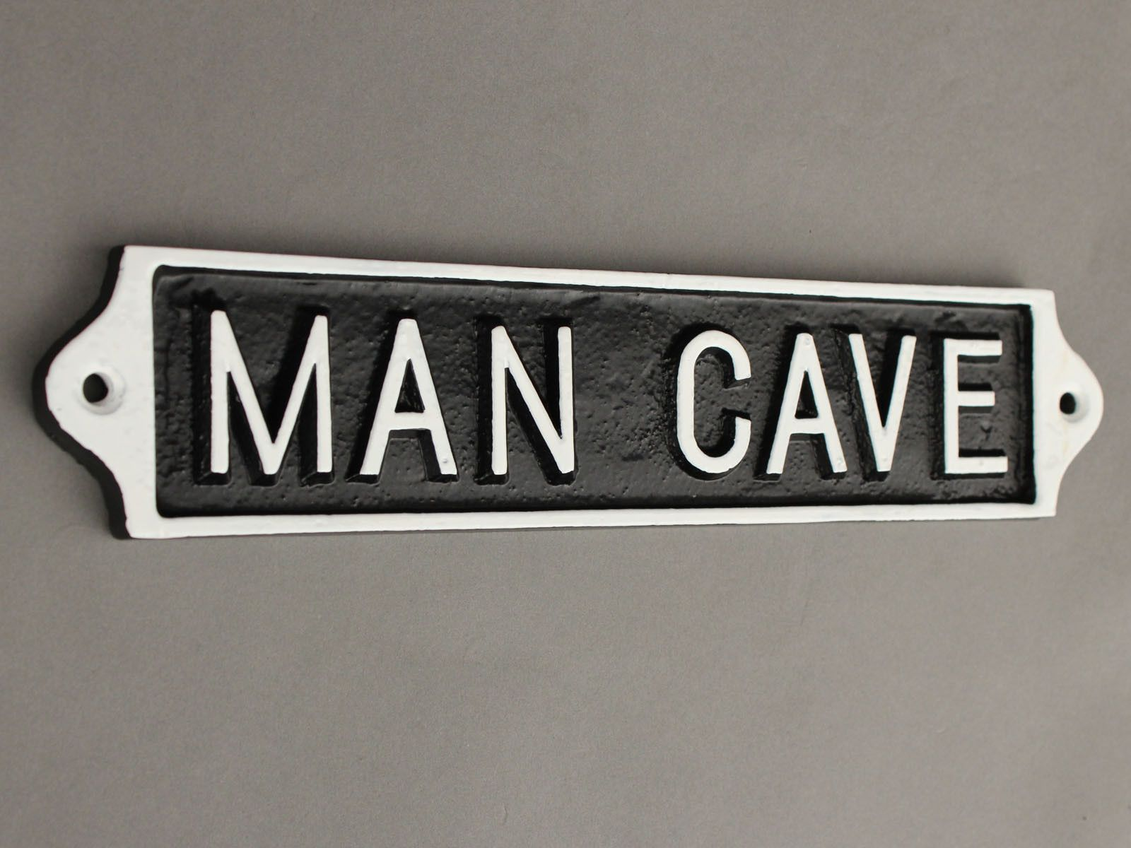 Man Cave Craft Eats Bacon : Large man cave sign signs men and