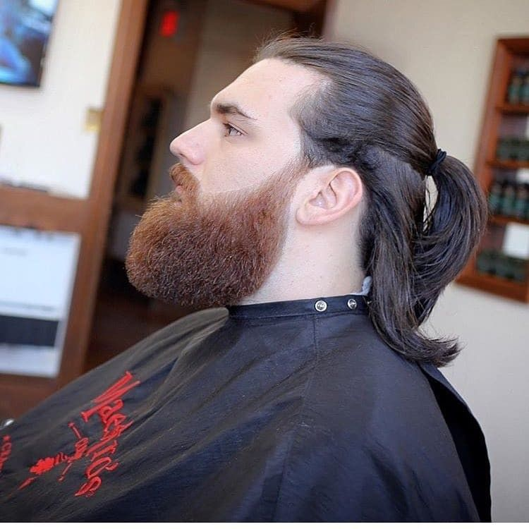 99 Inspirational Beards For The Ponytail Hairstyle Looks 2020 Beard Styles Man Ponytail Long Hair Styles Men