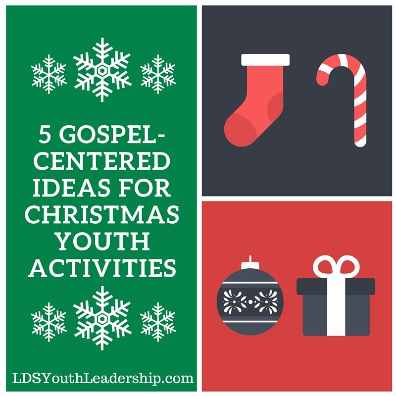Youth Group Christmas Party Ideas Part - 19: 5 Gospel-Centered Ideas For Christmas Youth Activities