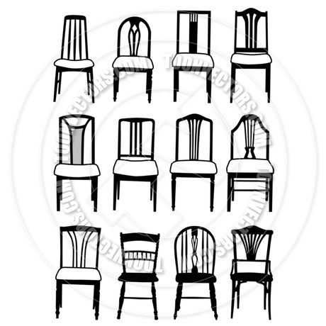 Dining Chair Clipart Google Search Recovering Chairs Chair