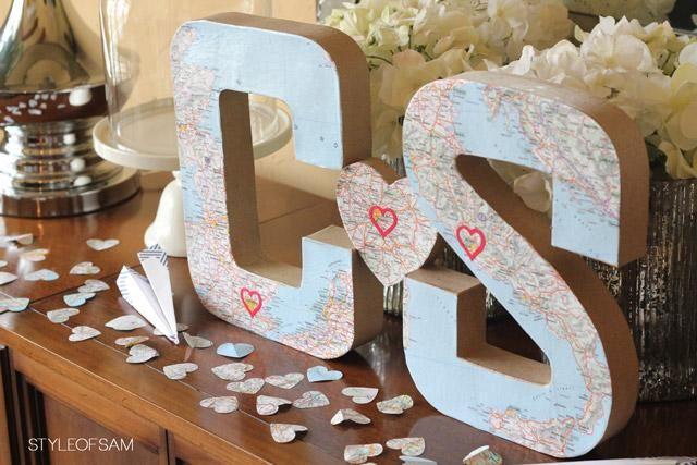 travel themed wedding shower paperblog