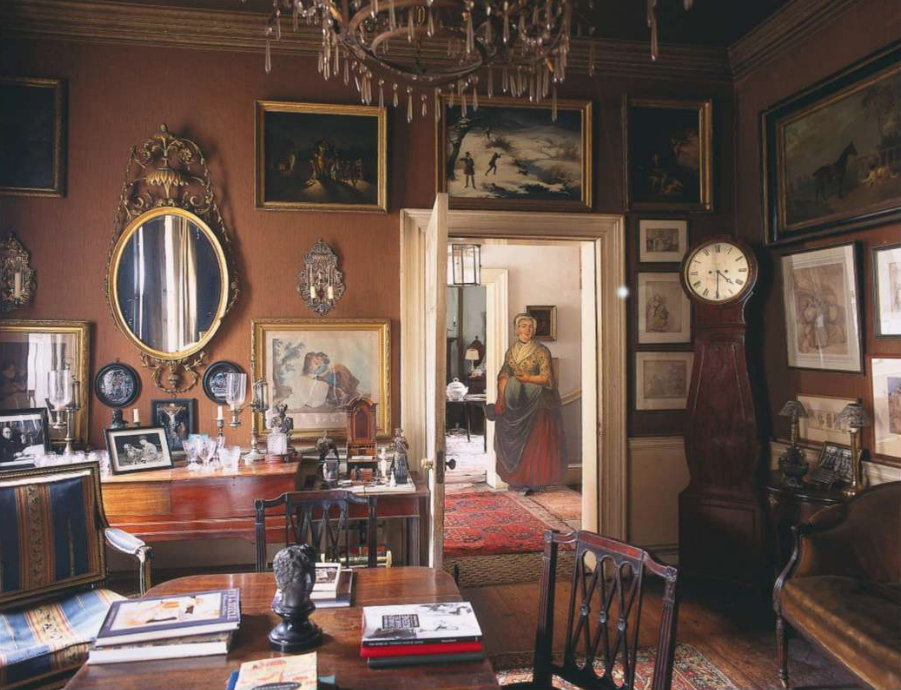 Sir Albert Richardson S Bedfordshire Home As Pictured In The World