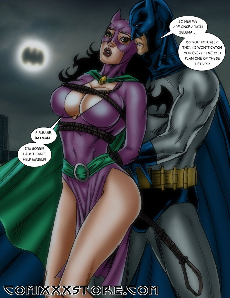 moving cartoon xxx | dc comics batman holds catwoman in bondage