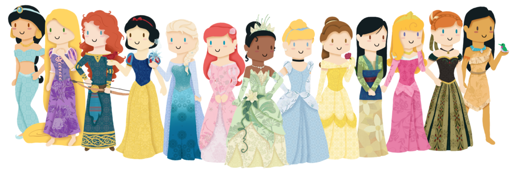 Image result for all the disney princesses