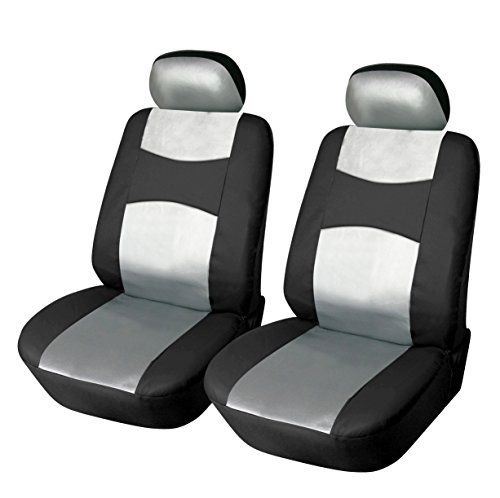 Car seat covers fit Nissan Note black//grey full set
