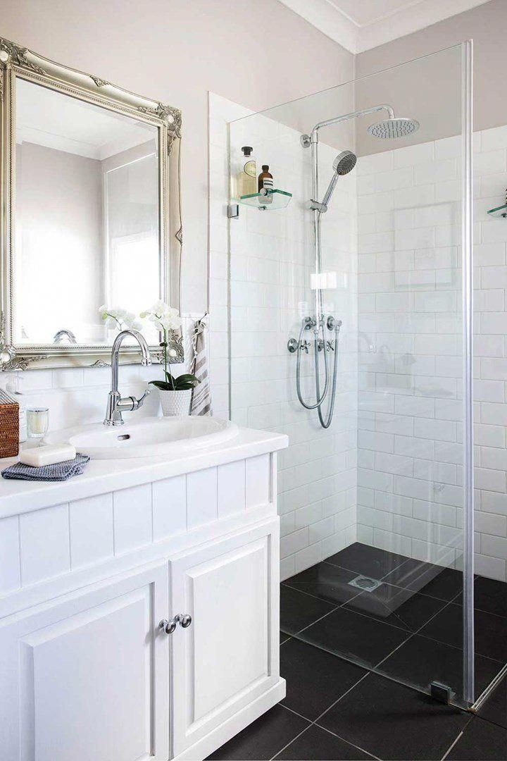 Country Clic A Low Cost Bathroom Renovation Home Beautiful Magazine Australia Lowcostremodeling