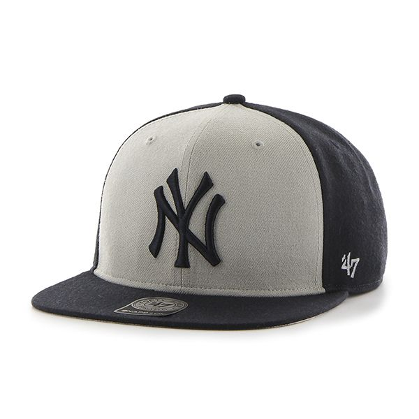 New York Yankees Sure Shot Accent Captain Navy 47 Brand Adjustable ... cf05143f736