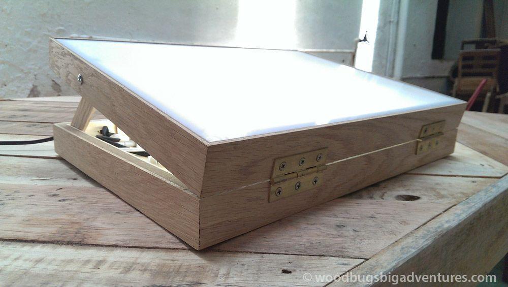 Tracing Light Box Woodbugsadventures 31 Diy