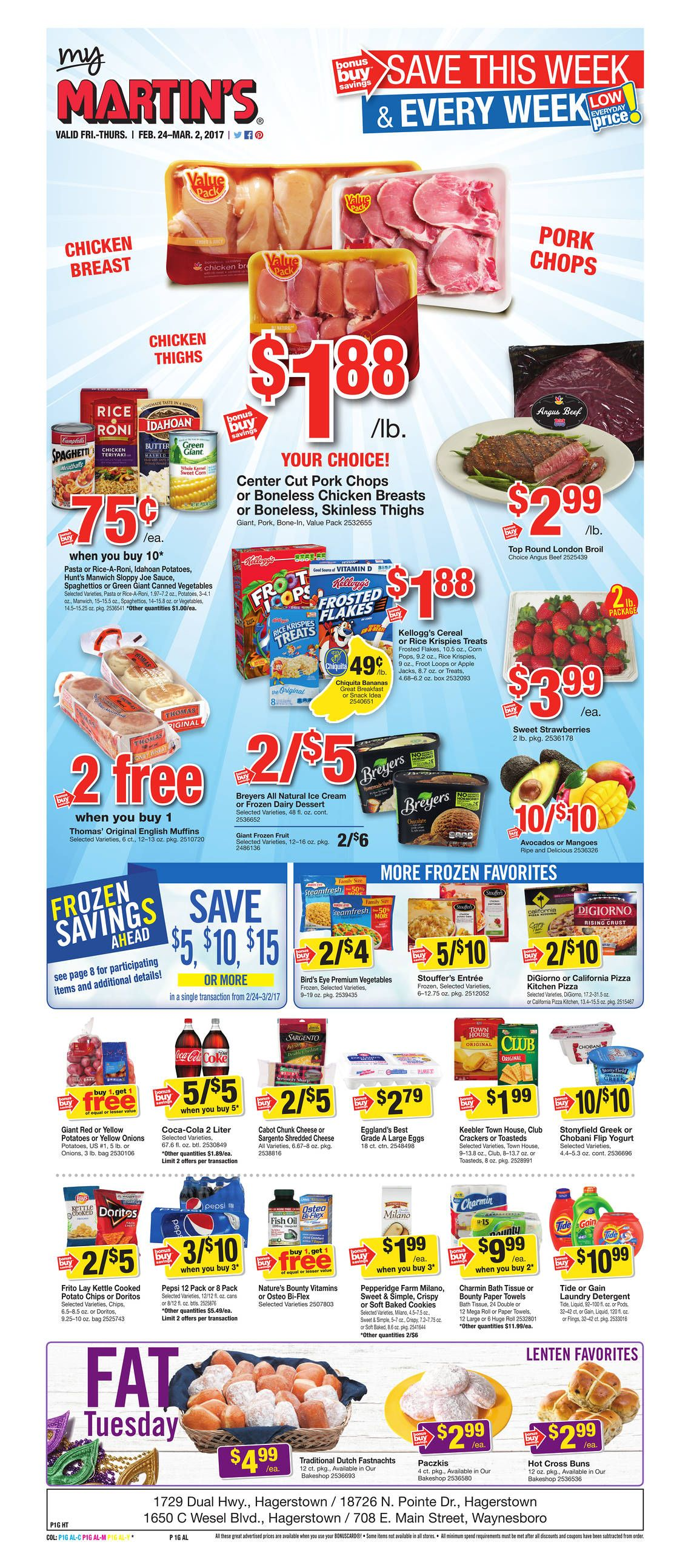 Martin S Weekly Ad Sale Http Www Myweeklyads Net Martins Grocery Flyer Stop And Shop Circular Grocery Ads