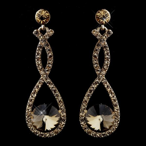 Light Topaz Earrings by How Divine https://www.howdivine.com.au/store/product/light-topaz-earrings