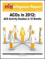 Participation in accountable care initiatives has more than doubled in the last 12 months, according to 200 healthcare companies who completed the second annual Healthcare Intelligence Network survey on Accountable Care Organizations (ACOs). The typical ACO is smaller, too, as the number of active ACOs with 100 to 500 physicians dropped almost 50 percent in the last 12 months.