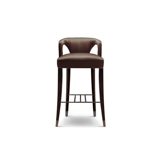 Nice Barstuhl Messing Beistelltisch Modernes Design Minimalismus Design Minimalist Decor Designer M bel