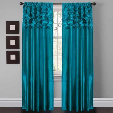 Circle Dream Window Curtains Pair