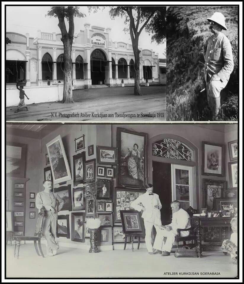 Fotografisch atelier Kurkdjian, Soerabaja 1915