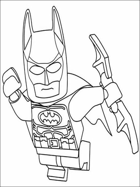Lego Batman Coloring Pages 30 | Batman para colorear ...