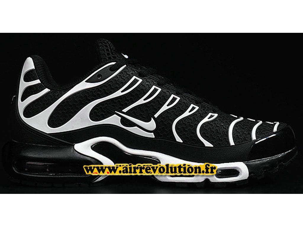 brand new 3230d 79699 Nike Air Max Tn Tuned Requin 2016 Chaussures Nike Officiel Pas Cher Pour  Homme Noir