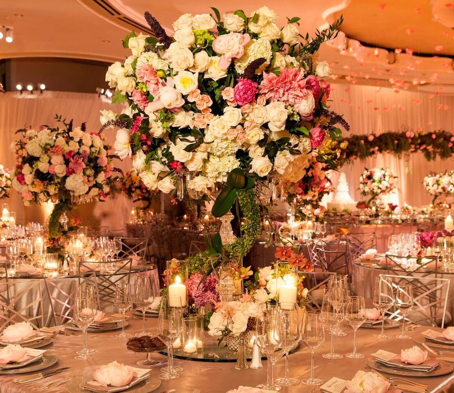 brought spring into the Crystal Ballroom at