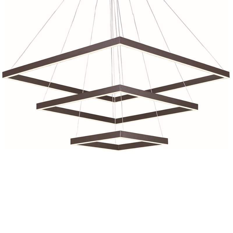 "ET2 E22407 100 Light 27.75"" Wide Pendant from the Quad Collection Bronze Indoor Lighting Pendants"