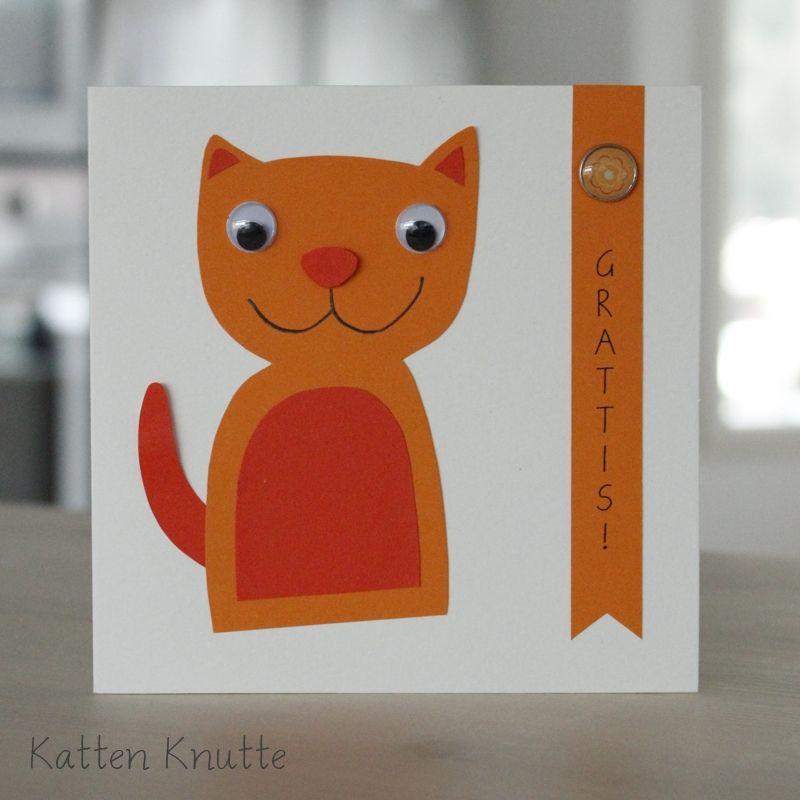 gratulationskort se Gratulationskort Katten Knutte på .signerat.se/formgivare  gratulationskort se
