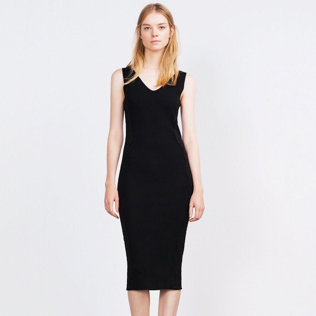 910939499aad Zara Bandage Knit Dress! | Products | Applique dress, Dresses, Knit ...