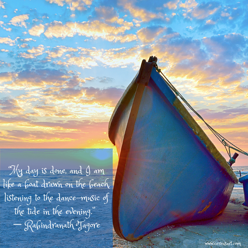 Rabindranath Tagore Beach Quotes On CereusArt