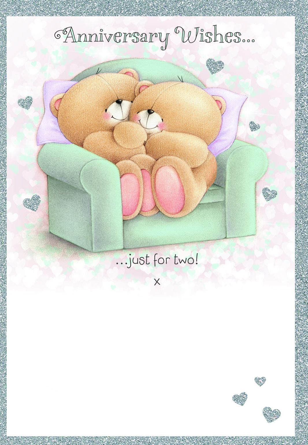 Anniversary Wishes Just For Two Tjn Forever Friends Bear Friend Anniversary Friends Forever