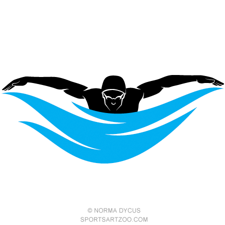 male swimmer butterfly stroke male swimmers vector clipart and rh pinterest com swimming clip art graphics swimmer clip art free