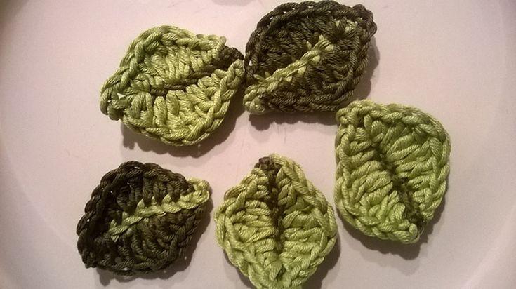 18 Free Crochet Leaf Patterns For Every Season Crochet Leaf