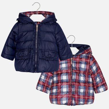 Dievčenský obojstranný kabátik Mayoral - Navy  e2f836835b2